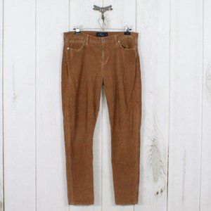LUCKY BRAND Brooke Skinny Corduroy Jeans Size 14
